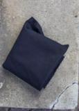 Heavy Washed canvas zwart_