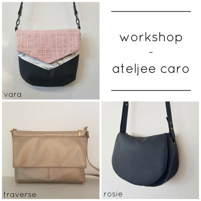 Workshop Vara/Rosie/Traverse bag @Stoffenheide February 16th 2020
