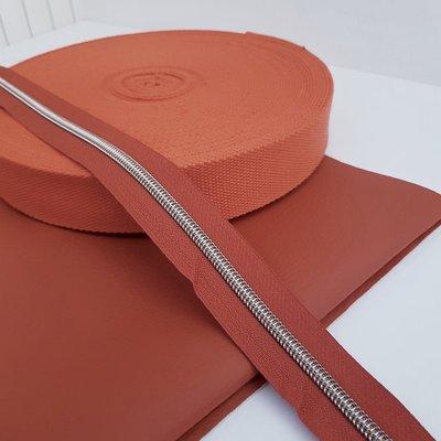 Tassenband 38 mm terracotta