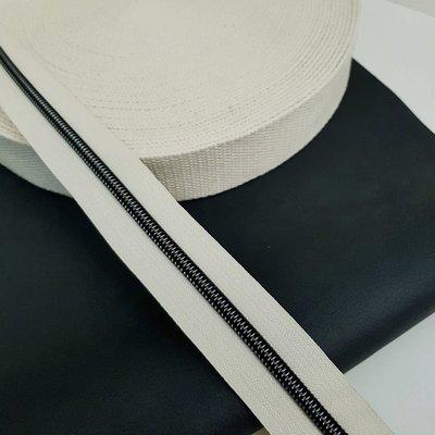 Tassenband 38 mm beige