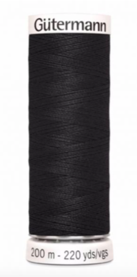 Thread black 000