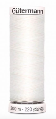 Thread white 800