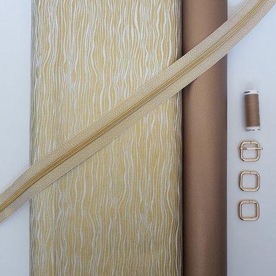 Cirri stoffenpakket 'Gold' ZONDER paspel (doorstikte versie)