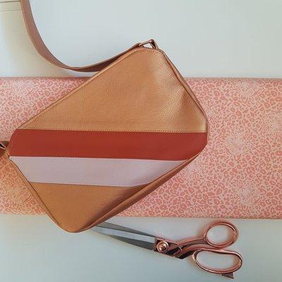 Cirri pack color block copper