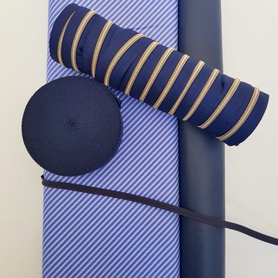Cosynette stoffenpakket 'Blue lines' MEDIUM