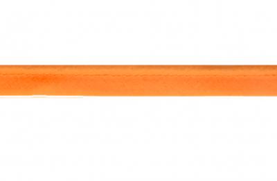 Paspel donker oranje (mooi bij koper en camel kunstleer)