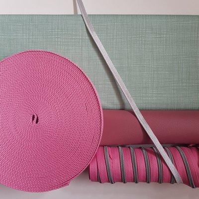 Cosynette stoffenpakket 'Pink & Green' MEDIUM