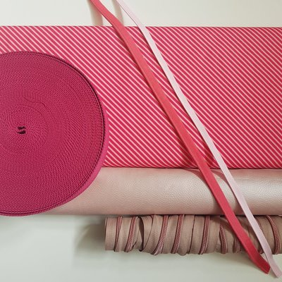 Cosynette stoffenpakket 'Fifty shades of pink' LARGE