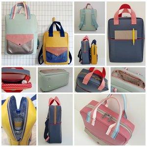 Happy Backpack patroon - Engels
