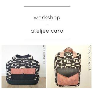 VOLZET !!! - Workshop Weekendtas/Happy Backpack @Stoffenheide 22 maart 2020