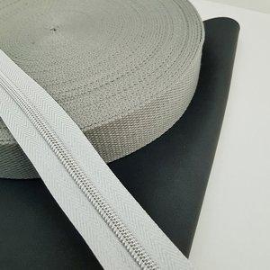 Tassenband 38 mm grijs