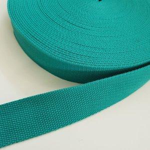 Tassenband 38 mm appelblauwzeegroen