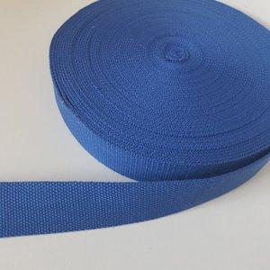 Tassenband 38 mm kobalt blauw