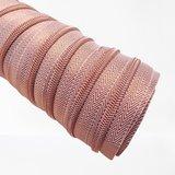 Rits lurex rosé 6 mm_