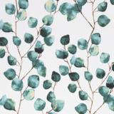 Eucalyptus Linen Look Canvas _