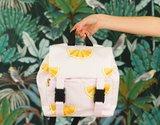 Oranges - Cotton Canvas Gabardine Twill - Primrose Pink_