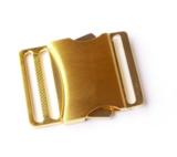 Klikgesp metaal goud 40 mm_