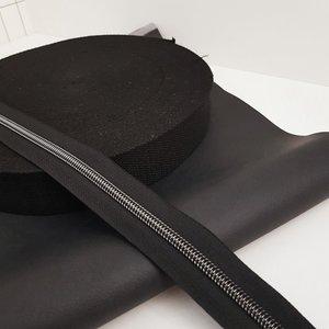 Webbing black 38 mm