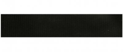 Tassenband 25 mm zwart