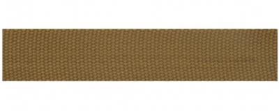 Tassenband 25 mm lichtbruin