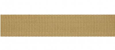Tassenband 25 mm sand