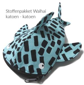 Walhai stoffenpakket katoen - katoen