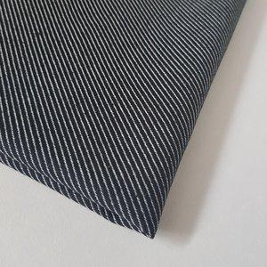 Deco diagonale strepen zwart