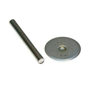 Gereedschap set voor holnieten met dubbele kop 9 mm