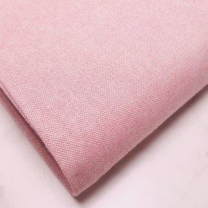 Gemêleerde stof met lurex roze