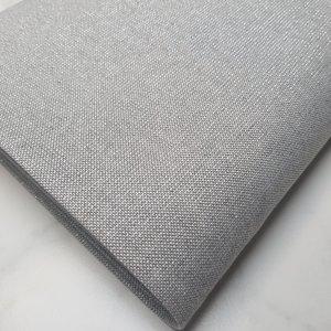 Gemêleerde stof met lurex grijs