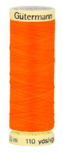 Garen neon oranje 3871