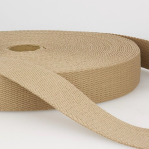Tassenband 30 mm sand