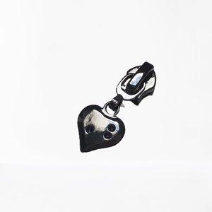 Trekker hartje gun black/titan 4 mm