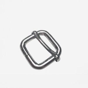 Schuifgesp zilver/nikkel binnenmaat 20 mm