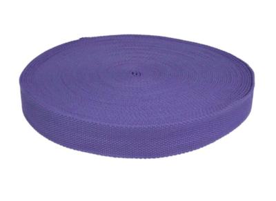 Tassenband 25 mm violet/paars