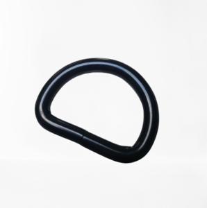 D-ring mat zwart 25 mm