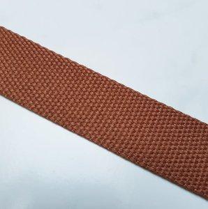 Tassenband 30 mm cognac