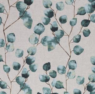 Eucalyptus Beige Linen Look Canvas